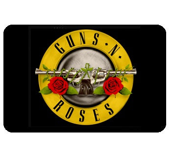 Guns N Roses - Circle Logo - Mouse Pad