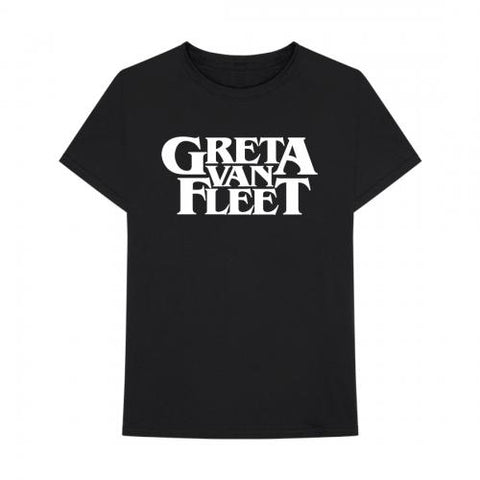 Greta Van Fleet - Black White Logo T-Shirt