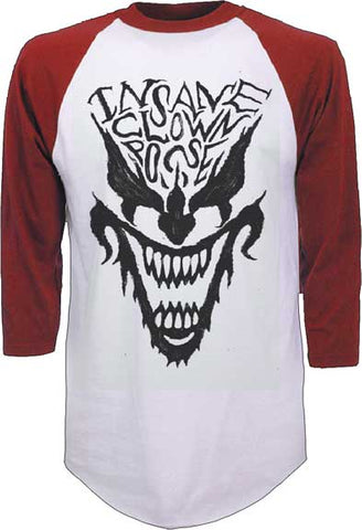 Insane Clown Posse - Face Baseball Jersey