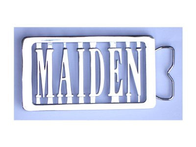 Iron Maiden - Logo Belt Buckle