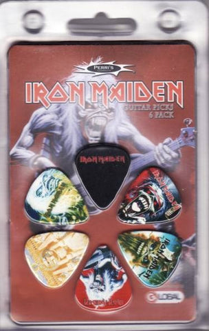 Iron Maiden - Eddie Design Guitar Pick Set