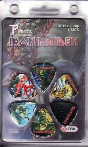 Iron Maiden - Guitar Pick Set - 6 Picks - Frontier Design