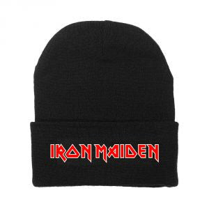 Iron Maiden - Red Logo Beanie