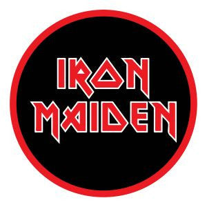 Iron Maiden - Stacked Logo Patch