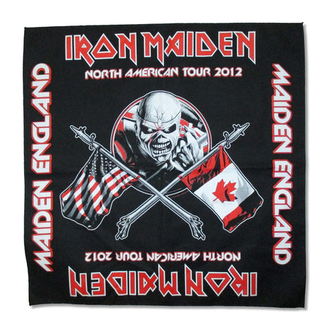 Iron Maiden - Bandana - North America