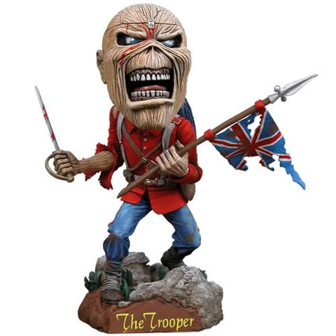 Iron Maiden - Bobble Head Figure - Trooper Eddie - Collector's