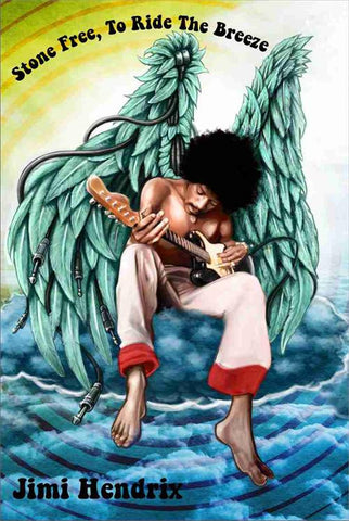Jimi Hendrix - Poster - Wings In Heaven