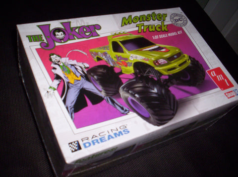 Joker - Model Kit - Batman - Snap - Monster Truck - 1:25 Scale
