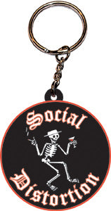Social Distortion - Logo - Rubber - Keychain