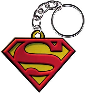 Superman - Logo - Rubber - Keychain