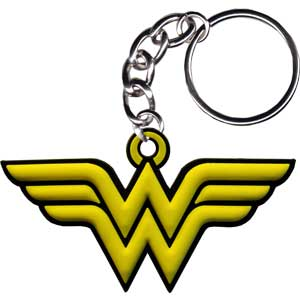 Wonder Woman - Logo - Rubber - Keychain