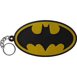 Batman - Bat Signal Rubber - Keychain