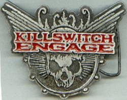 Killswitch Engage - Pewter Belt Buckle