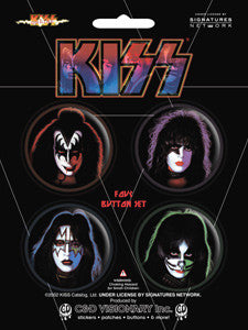 KISS - Button Set