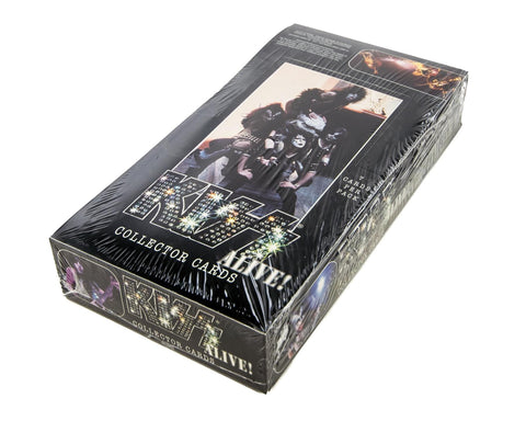 KISS - Alive! Collector Trading Cards Box - New, Sealed, 36 Packs, 7 Cards Per Pack