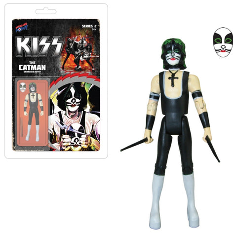 KISS - Action Figure - Catman - Limited Edition - Series 2
