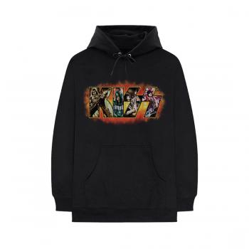 KISS - Comic Logo - Pullover Hoodie