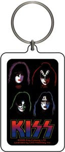 KISS - Faces Keychain
