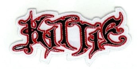 Kittie - White Logo Patch