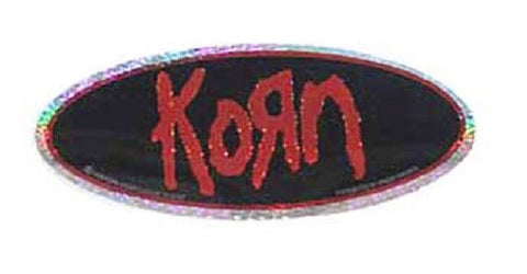 Korn - Oval Logo Sticker