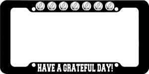 Grateful Dead - License Plate Frame