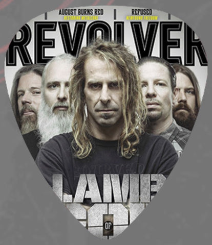 Lamb Of God - Guitar Pick -Revolver-USA-Celluloid-Pack Of 2