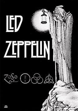 Led Zeppelin - Lantern Poster Flag