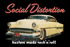 Social Distortion - Kustom Rock Magnet