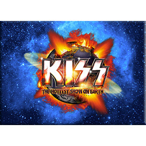 KISS - Hottest Show on Earth Fridge Magnet