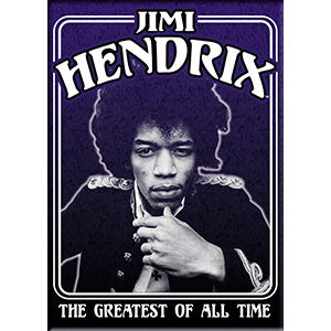 Jimi Hendrix - Framed Photo GOAT - Magnet