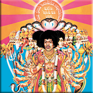 Jimi Hendrix - Axis Bold As Love - Magnet