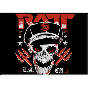 RATT - Logo With Skull - Magnet