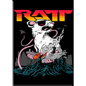 RATT - Logo With Sunglasses - Magnet