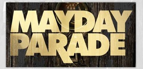 Mayday Parade - Sticker - Gold Monsters Logo