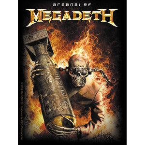 Megadeth - Arsenal Sticker