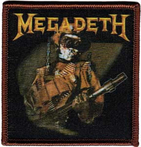 Megadeth - Soldier Embroidered Patch