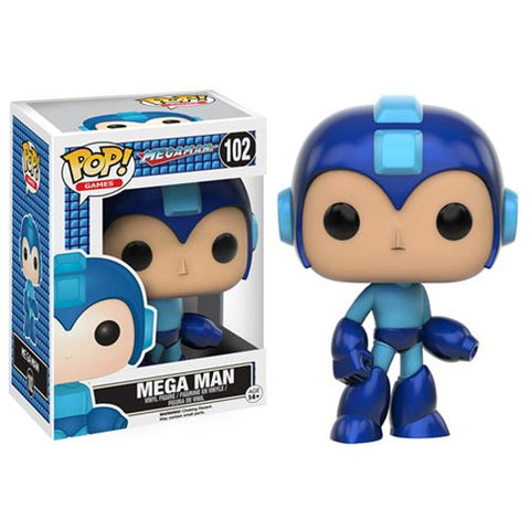 Mega Man - Vinyl Figure - Capcom- Video Game - Licensed