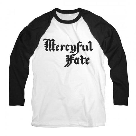 Mercyful Fate - Logo Baseball Jersey Tee