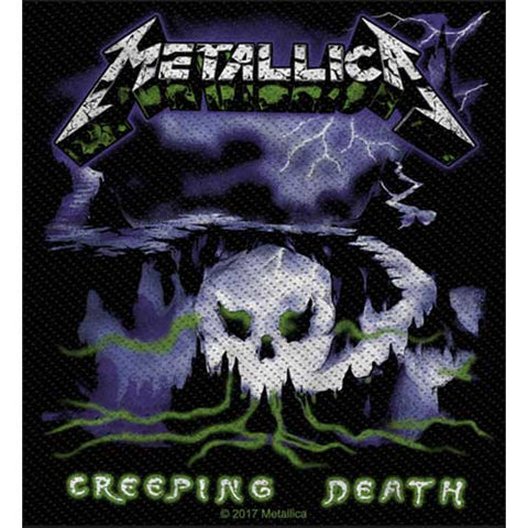 Metallica - Patch - Woven - UK Import - Creeping-Collector's Patch
