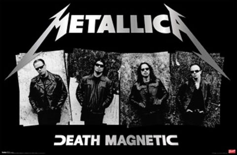 Metallica - Poster - Death Magnetic