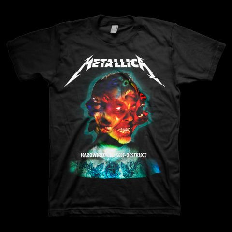 Metallica - Hardwired Faces T-Shirt