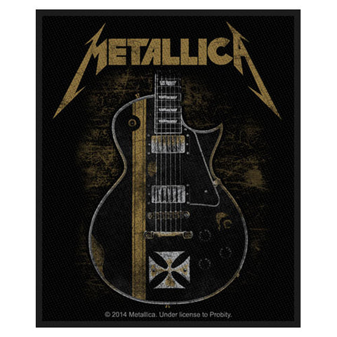 Metallica - Patch-Woven-UK Import-Hetfield Guitar-Collector's Patch