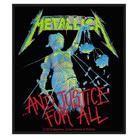 Metallica - Patch-Woven-UK Import-Justice-Collector's Patch