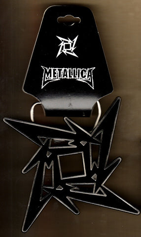 Metallica - Black Star Belt Buckle