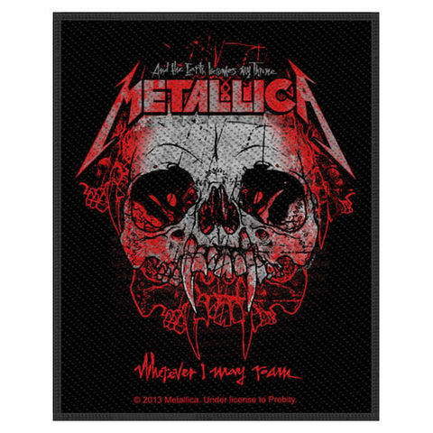 Metallica - Patch-Woven-UK Import-I May Roam-Collector's Patch