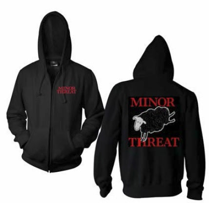 Minor Threat - Blacksheep Zip Hoodie