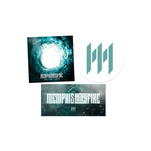 Memphis May Fire - Sticker Set - 1 Set Of 3 Stickers