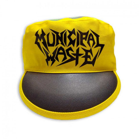 Municipal Waste - Black/Yellow Logo Monster Painters Cap