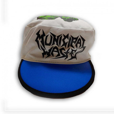 Municipal Waste - Blue/Grey Logo Monster Painters Cap