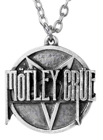 Motley Crue - Pendant - Pentagram - Necklace (UK Import)